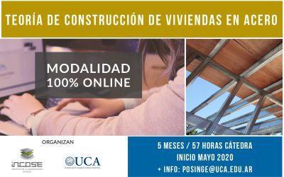 """Nuevo Seminario """"Teoría de construcción de viviendas en Acero"""""""