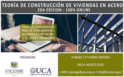 """Segunda edición """"Teoría de construcción de viviendas en acero""""."""