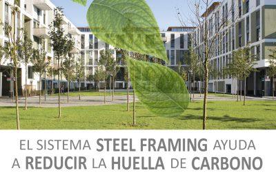 Reducción de Huella de carbono en el Steel Framing