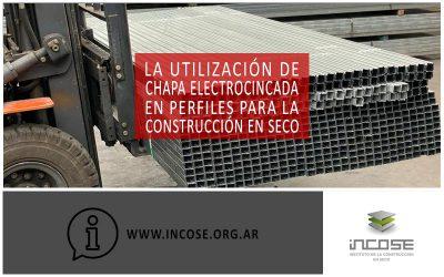 La utilización de chapa electrocincada en perfiles para la construcción en seco