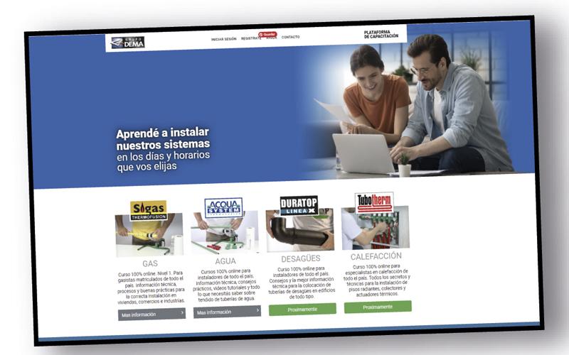 Nueva plataforma de capacitación on line de Grupo Dema