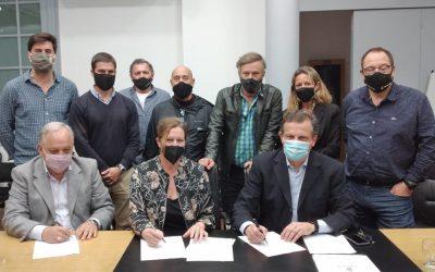 CAIPYVA y el INCOSE firmaron un acuerdo de Cooperación
